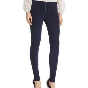 In search of Alice Olivia zip front leggings